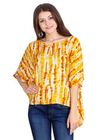 women's rayon tops,rayon tops,maternity tops, evening tops, Yellow tops for women, ladies Yellow tops, Yellow top online, Yellow blouse, Yellow v neck top, embroidered top, Yellow embroidered top,tye dye tunic, tye dye tops, tie die top, tie die dress