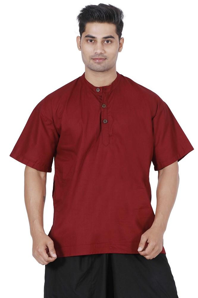 Men Maroon Kurta, Boys kurta, Mens T-shirt, Boys T-shirt, Mens kurta Online, Mens cotton Kurta, mens Large kurta, Hippie kurta, yoga kurta, Travel kurta, Travel T-shirt, travel top