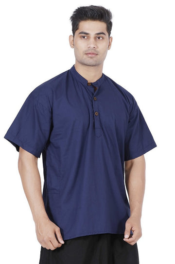 Men Blue Kurta, Boys kurta, Mens T-shirt, Boys T-shirt, Mens kurta Online, Mens cotton Kurta, mens Large kurta, Hippie kurta, yoga kurta, Travel kurta, Travel T-shirt, travel top