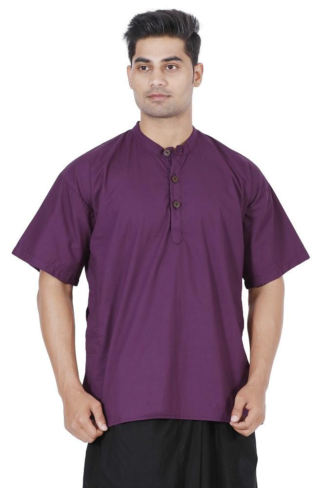 Men Dark Purple Kurta, Boys kurta, Mens T-shirt, Boys T-shirt, Mens kurta Online, Mens cotton Kurta, mens Large kurta, Hippie kurta, yoga kurta, Travel kurta, Travel T-shirt, travel top