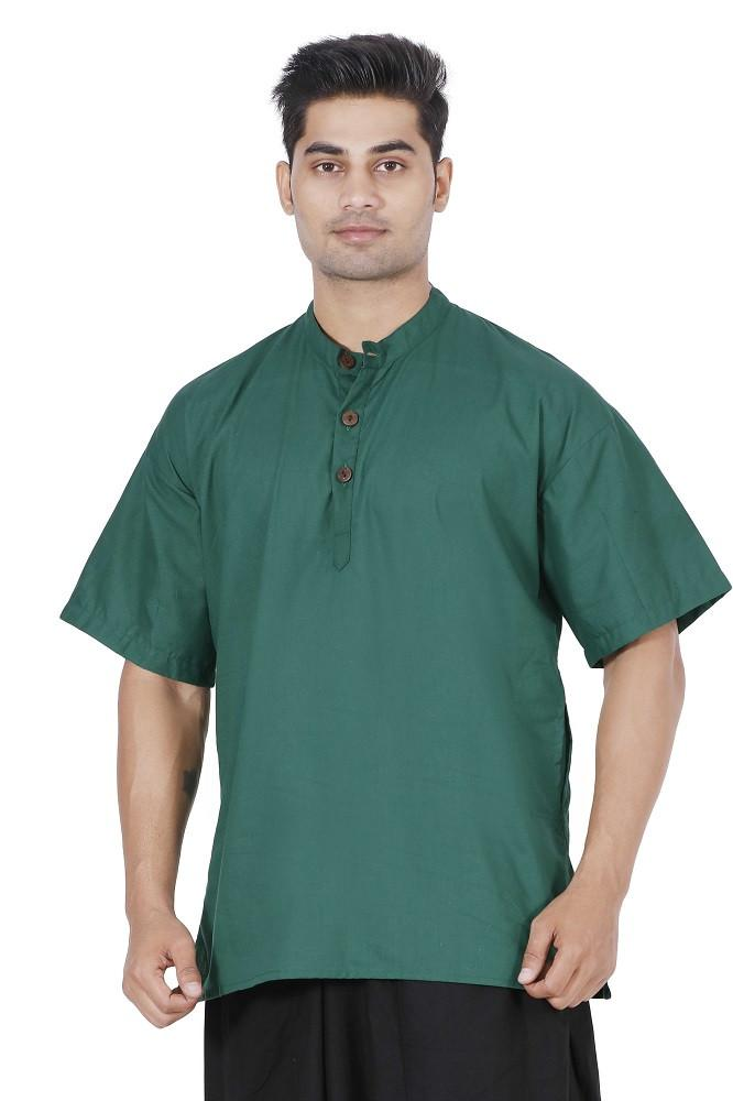 Men Green Kurta, Boys kurta, Mens T-shirt, Boys T-shirt, Mens kurta Online, Mens cotton Kurta, mens Large kurta, Hippie kurta, yoga kurta, Travel kurta, Travel T-shirt, travel top
