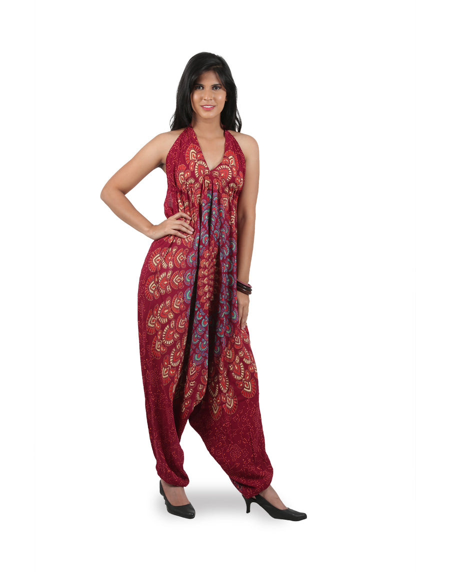 Maroon mandala jumpsuit, boho chic clothing, bohemian store, gypsy style clothing, bomber coat, boho boutique