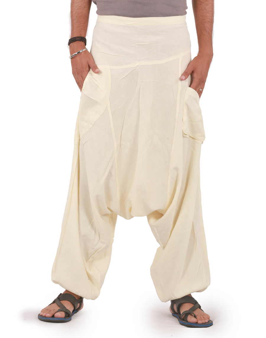 Off White linen pants, Off White Pants, Linen pants, Mens Harem  Pants, Harem linen pants, pure Linen Pants, Genie Linen Pants, Baggy Linen Pants, Show me some white linen pants, Show me pure white linen pants, show me some linen baggy pants, show me some linen hippie pants, Casual Pants, Relaxed Pants, Comfy Pants, XXXL Pants, XXL Pants