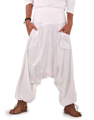 White linen pants, White Pants, Linen pants, Mens Harem  Pants, Harem linen pants, pure Linen Pants, Genie Linen Pants, Baggy Linen Pants, Show me some white linen pants, Show me pure white linen pants, show me some linen baggy pants, show me some linen hippie pants, Casual Pants, Relaxed Pants, Comfy Pants, XXXL Pants, XXL Pants