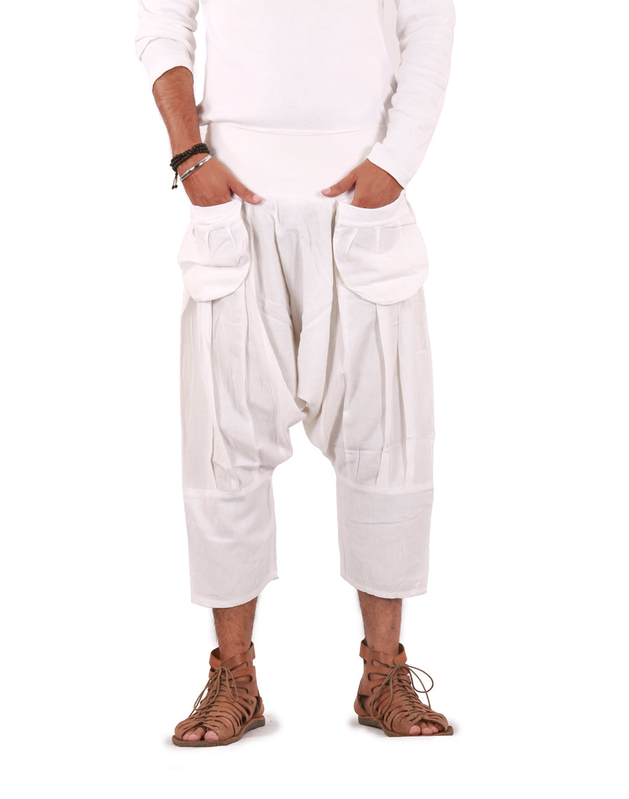 White linen pants, White Pants, Linen pants, Mens Harem  Pants, Harem linen pants, pure Linen Pants, Genie Linen Pants, Baggy Linen Pants, Show me some white linen pants, Show me pure white linen pants, show me some linen baggy pants, show me some linen hippie pants, Casual Pants, Relaxed Pants, Comfy Pants, Cowl Pants, Indian Pants, Capri Pants, 3/4 Pants, Half Pants, Linen Cloth, Boho Pants