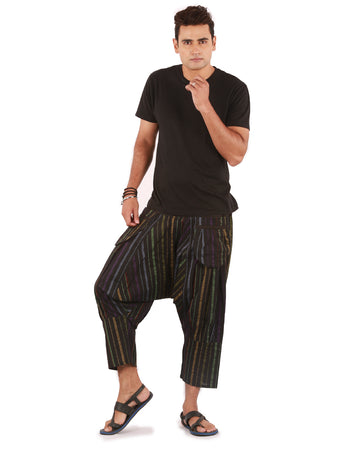 Capri Pants, Mens Hippy Pants, Harem Capris, Black Harem Pants, Shorts,Beach Shorts , capri, Mens Short, Boys Shorts, Genie Pants, Boho Pants, Hippie Pants