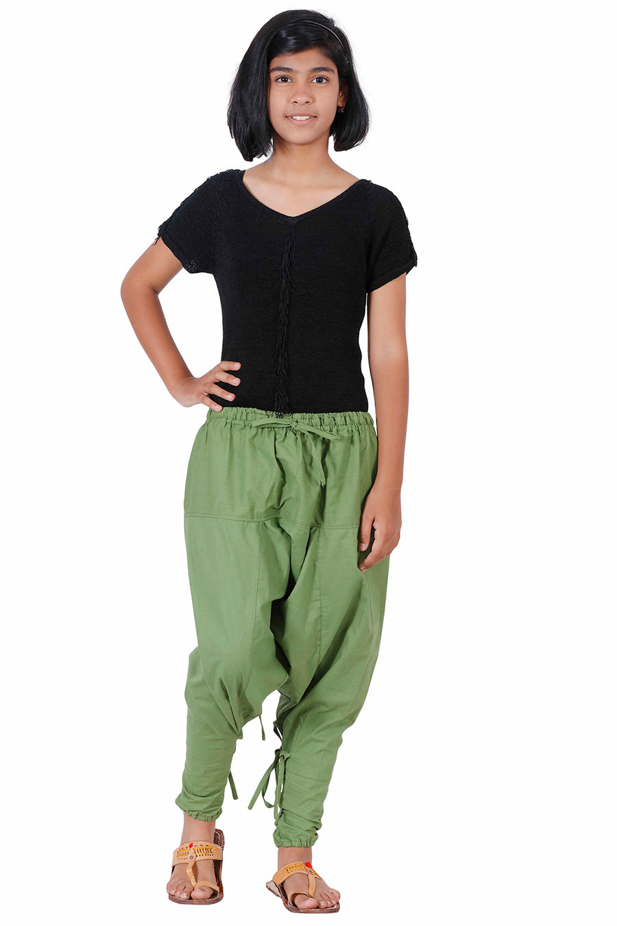 dbb8204fb Kids Harem Pants, Kids Parachute Pants, Green Harem Pants for kids, ...