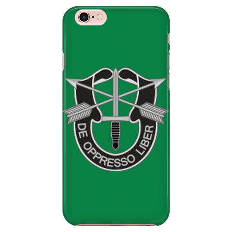 SF Crest Iphone 6-6S Green Case