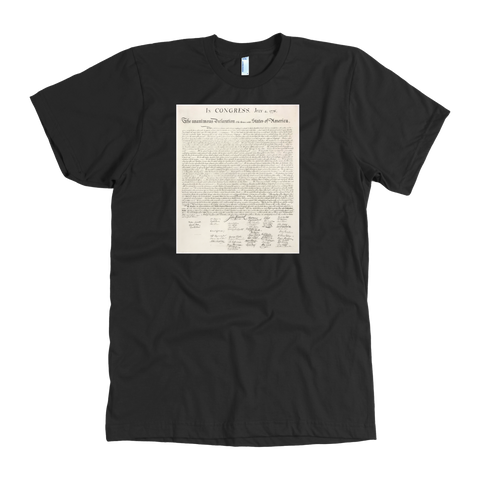 Declaration of Independence Tshirt