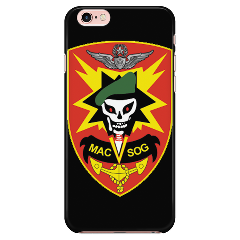 MACVSOG Iphone 6-6S Black Case