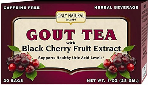 Natural Gout Tea Black Cherry Fruit Extract