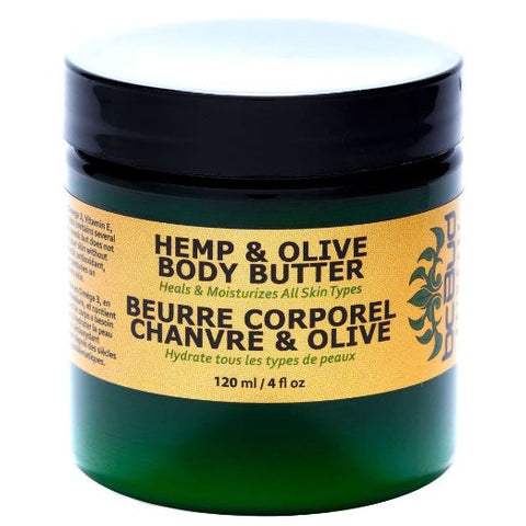 Hemp and Olive Body Butter For Dry Skin