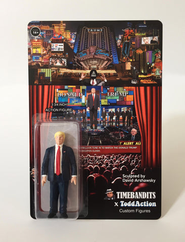 """The Donald Trump Show"" 3 3/4 inch Action Figure"