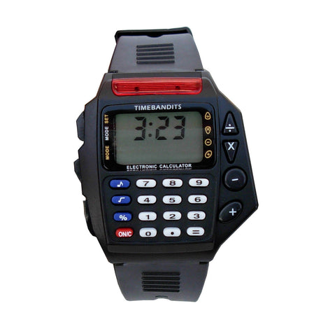 TIMEBANDITS Retro Digital Calculator Watch 01