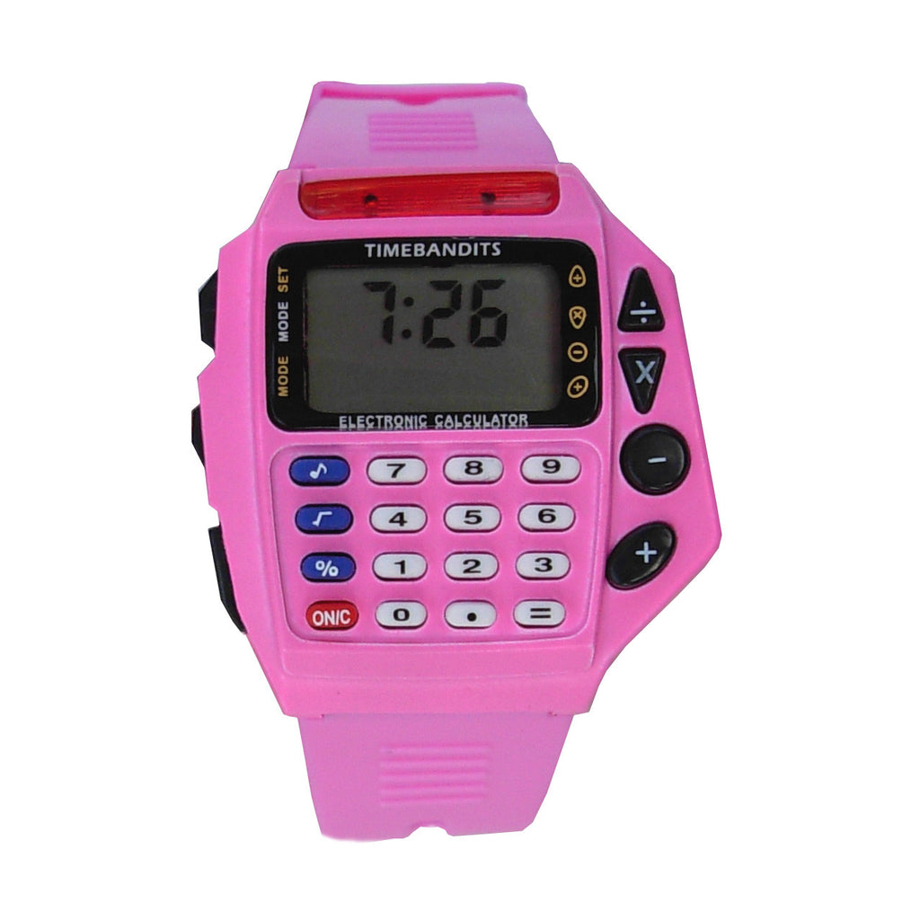 TIMEBANDITS Retro Digital Calculator Watch 02