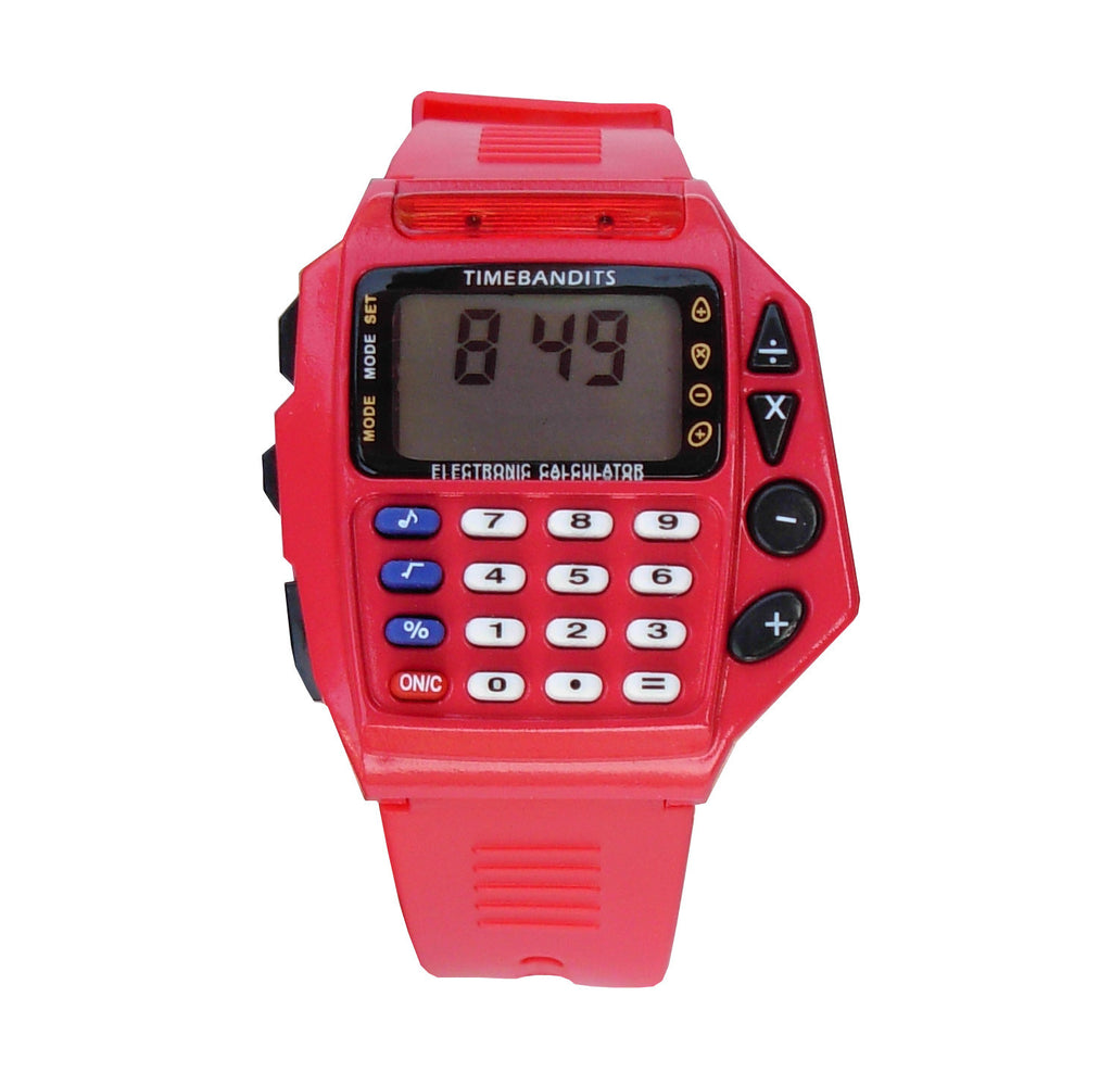 TIMEBANDITS Retro Digital Calculator Watch 03
