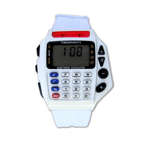 TIMEBANDITS Retro Digital Calculator Watch 04