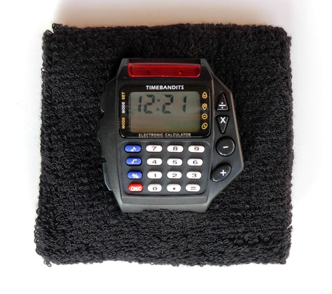 TIMEBANDITS Retro Digital Calculator Watch DCAL02BK