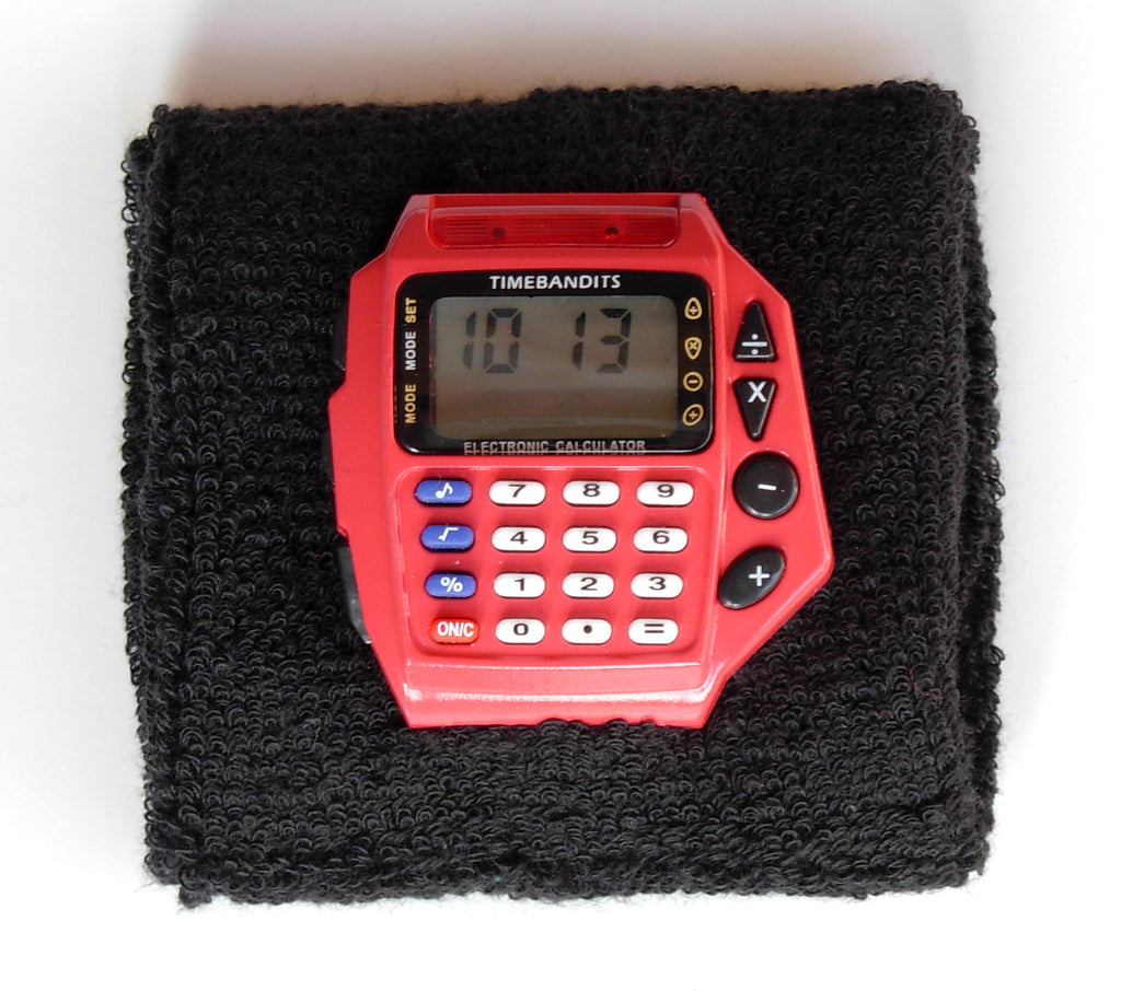 TIMEBANDITS Retro Digital Calculator Watch DCAL02R