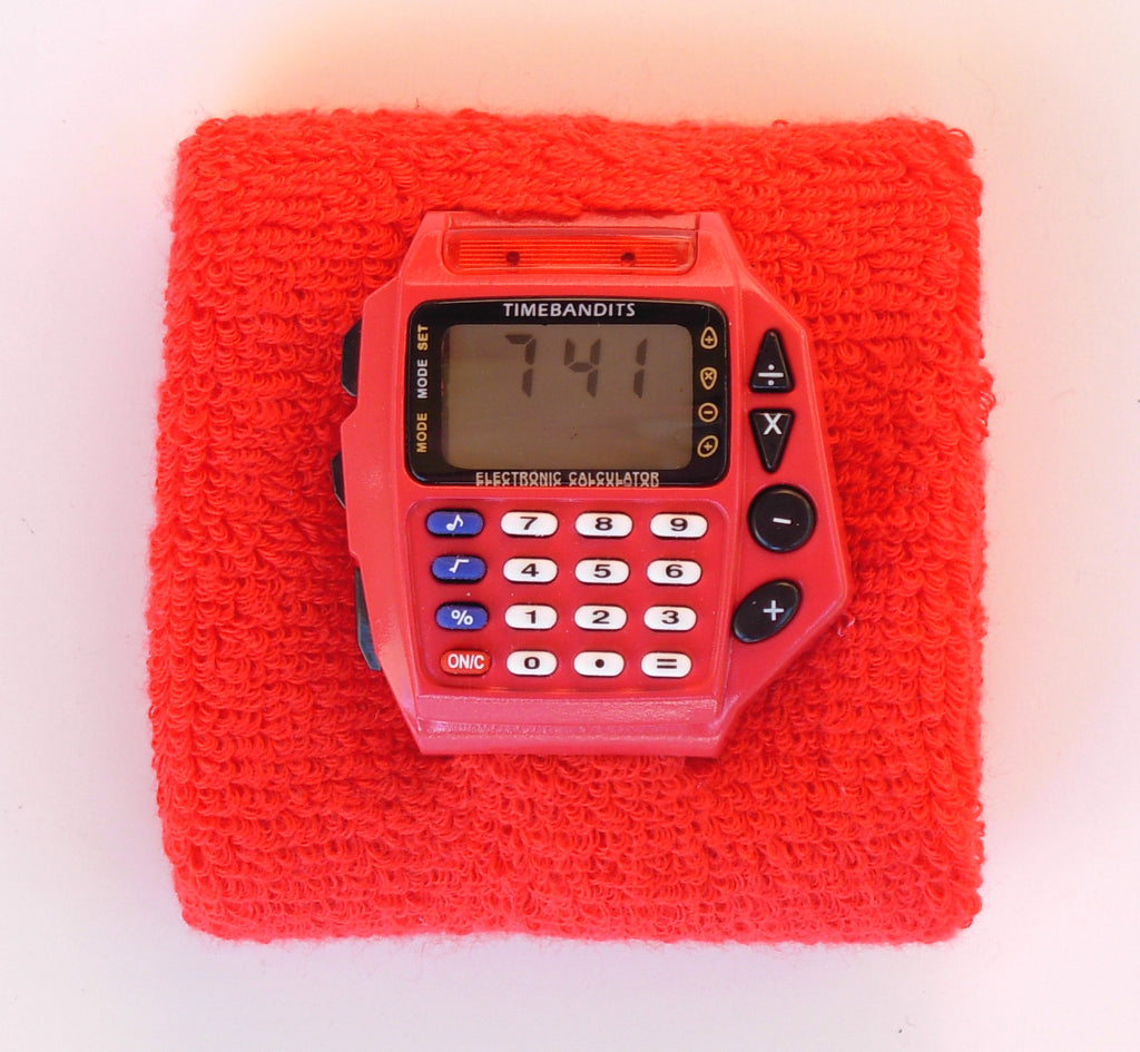 TIMEBANDITS Retro Digital Calculator Watch DCAL06R
