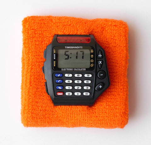TIMEBANDITS Retro Digital Calculator Watch DCAL07BK