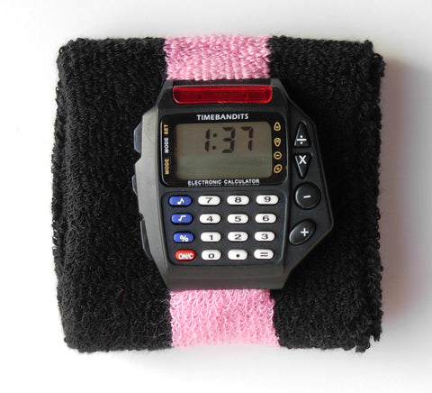 TIMEBANDITS Retro Digital Calculator Watch DCAL13BK