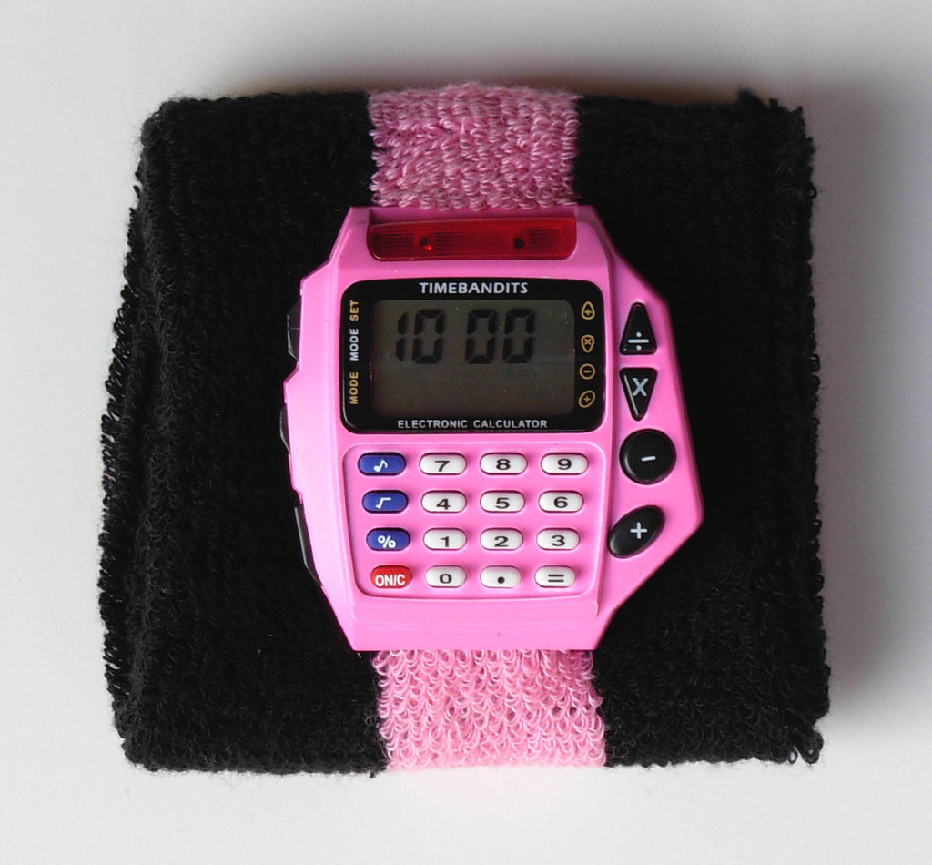 TIMEBANDITS Retro Digital Calculator Watch DCAL13P
