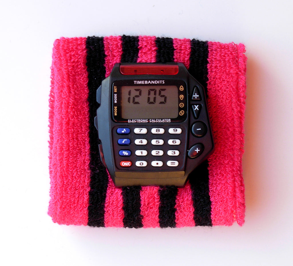 TIMEBANDITS Retro Digital Calculator Watch DCAL14BK