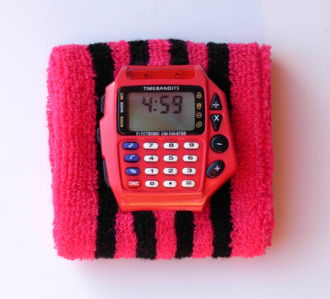 TIMEBANDITS Retro Digital Calculator Watch DCAL14R