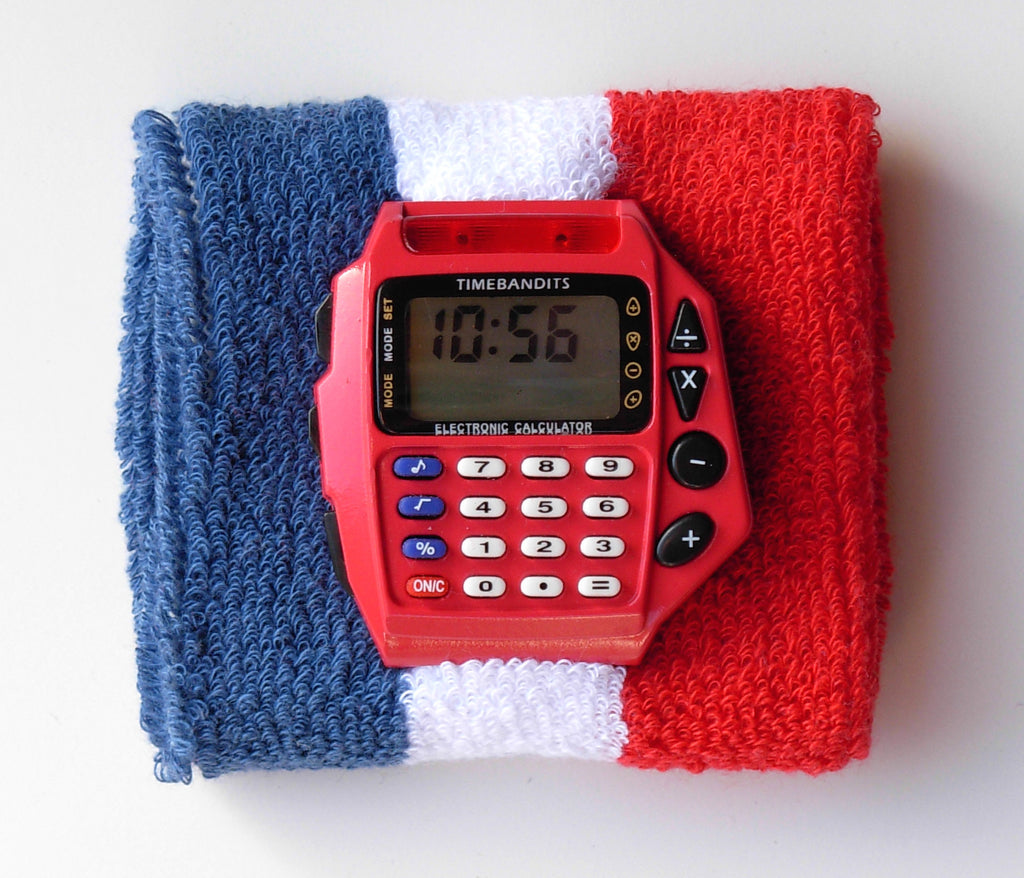 TIMEBANDITS Retro Digital Calculator Watch DCAL17R