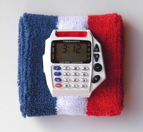 TIMEBANDITS Retro Digital Calculator Watch DCAL17W