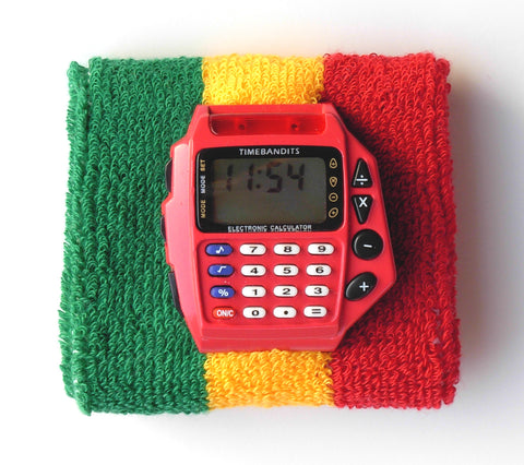 TIMEBANDITS Retro Digital Calculator Watch DCAL19R