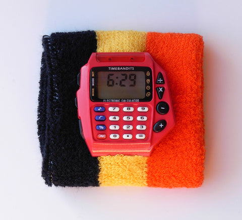 TIMEBANDITS Retro Digital Calculator Watch DCAL20R