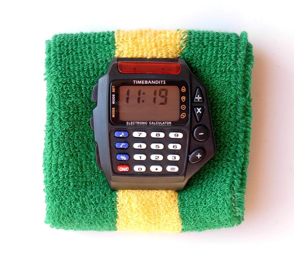 TIMEBANDITS Retro Digital Calculator Watch DCAL22BK