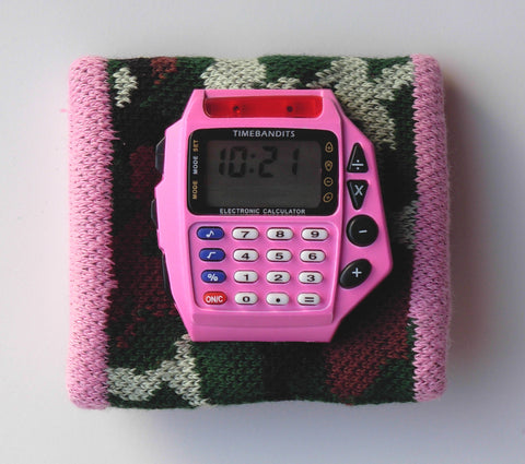TIMEBANDITS Retro Digital Calculator Watch DCAL29P