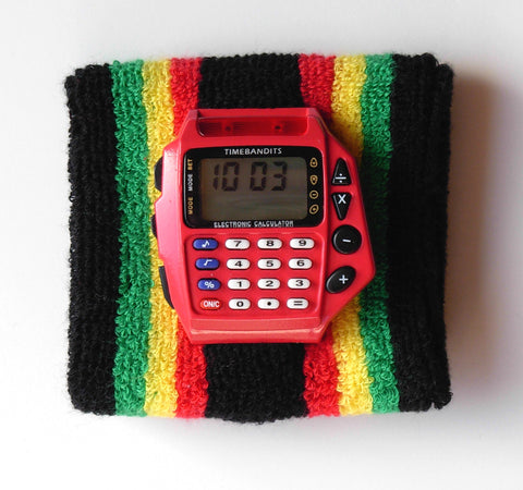 TIMEBANDITS Retro Digital Calculator Watch DCAL31R