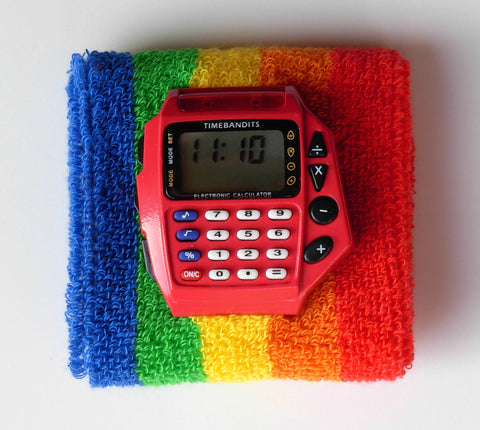 TIMEBANDITS Retro Digital Calculator Watch DCAL32R
