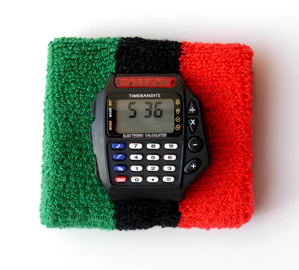 TIMEBANDITS Retro Digital Calculator Watch DCAL37BK