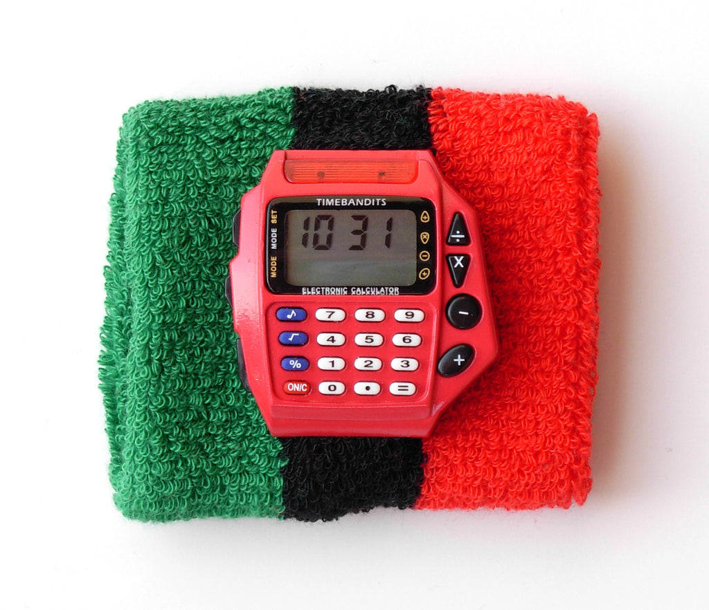 TIMEBANDITS Retro Digital Calculator Watch DCAL37R