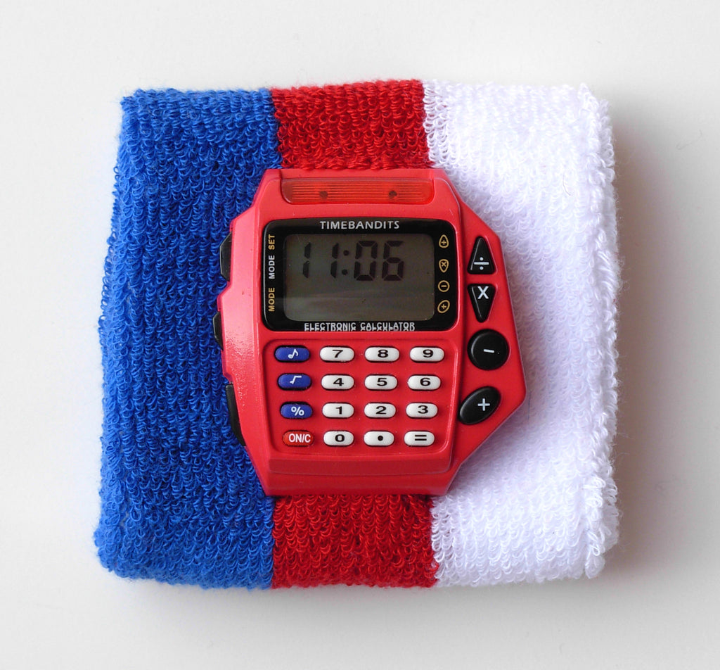 TIMEBANDITS Retro Digital Calculator Watch DCAL38R
