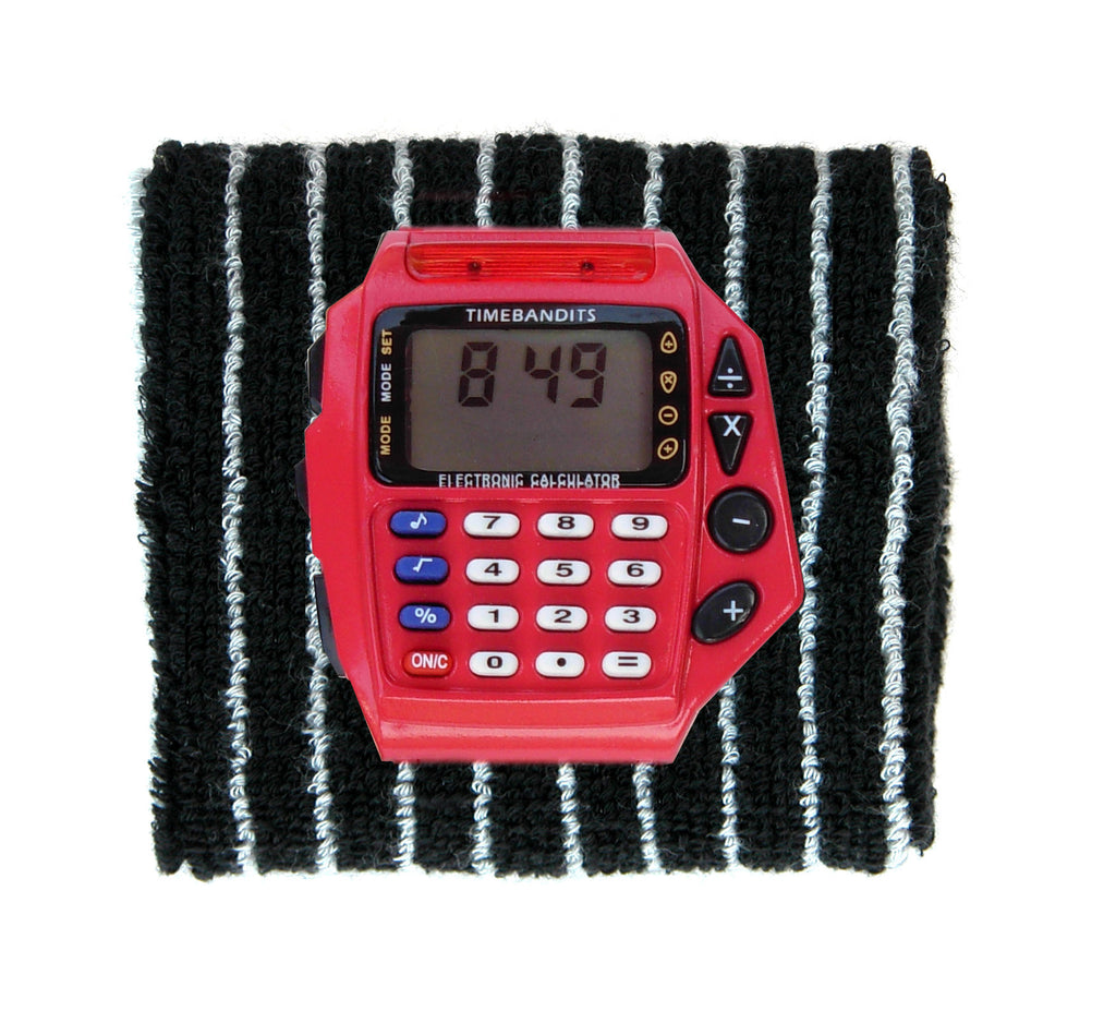 TIMEBANDITS Retro Digital Calculator Watch DCAL45R
