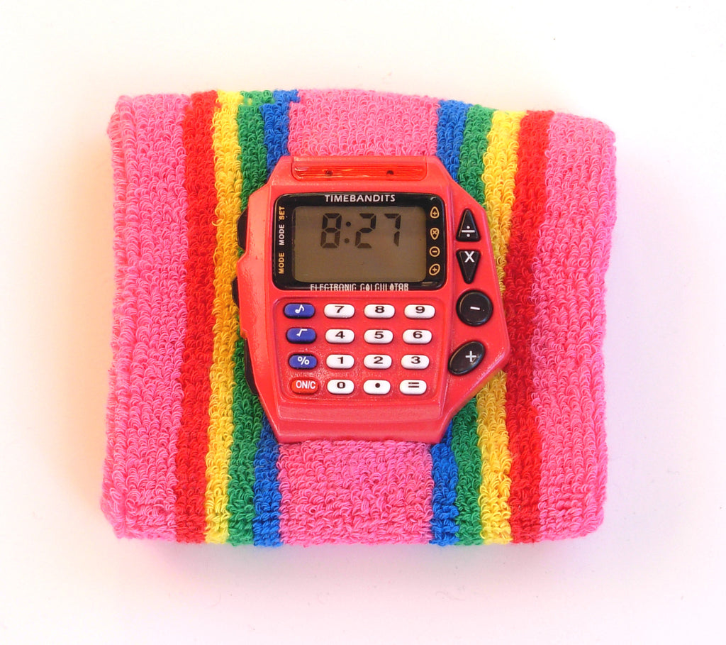 TIMEBANDITS Retro Digital Calculator Watch DCAL46R