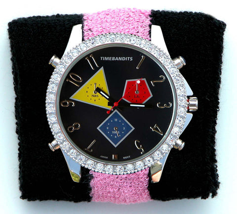 TIMEBANDITS Watch - Seen On Perez Hilton / Urb Magazine Cover