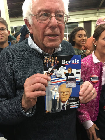 """Bernie"" 3 3/4 inch Action Figure / Limited to 40 units"