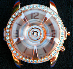 TIMEBANDITS Spinner Watch - Seen On Snoop Dogg