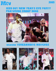 TIMEBANDITS Watch - Seen On Snoop Dogg / Mtv New Year's Eve Party
