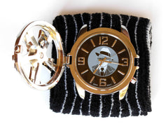 TIMEBANDITS Spinner Watch U45SBK