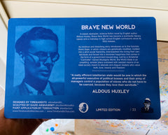 "Aldous Huxley ""Brave New World"""