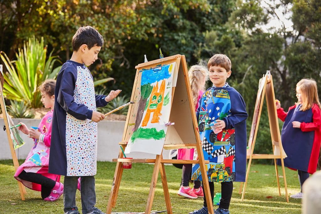 children's art smocks