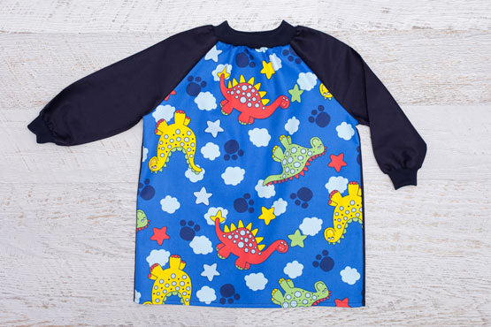 Dinosaur long sleeve art smock